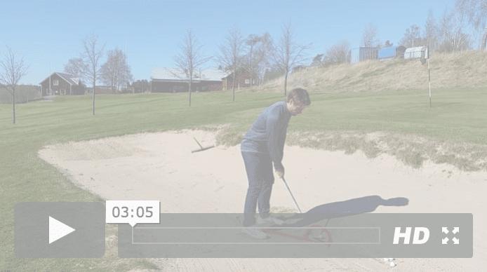 Golfspelet bunker