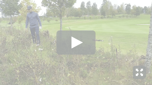 Golfregler leta boll