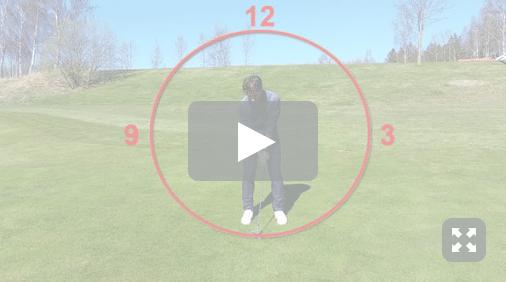 Golfspelet pitchning