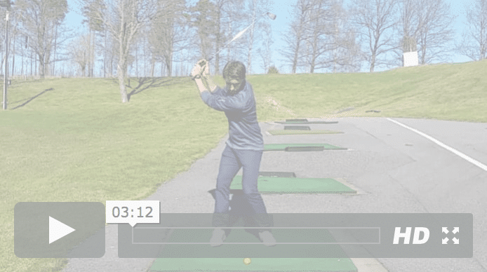 Golfspelet sving